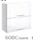 Бьянка 600 Вм глянец белый (Миромарк)