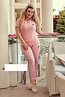 Спортивный костюм женский в большом размере, фото 1