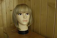 Женский парик из натуральных волос. Каре блонд.