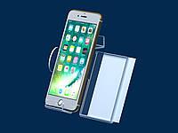 Подставка под смартфон с описанием для экономпанели