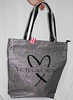 Сумка серебристая Victorias Secret (реплика), фото 1