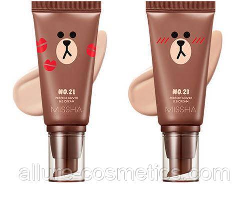 ББ крем Missha M Perfect Cover BB Cream 50мл Line Friends Edition