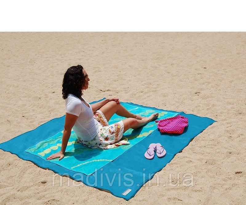 Пляжный коврик Sand Free Mat | Анти-песок (200 х 150 см.)