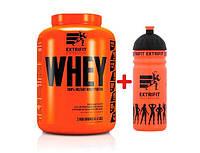 Сывороточный протеин концентрат EXTRIFIT100% Instant Whey Protein + Water Bottle 750 мл (2 кг) экстрифит choco coconut