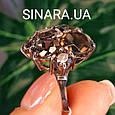 Изумительное кольцо с натуральным раух топазом из серебра  с черным родием - Кольцо раух топаз серебро 925, фото 8