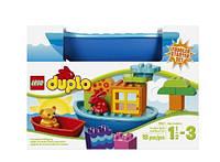 LEGO Duplo Лодочка и веселые кубики для малышей 10567