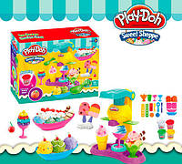 Игровой набор пластилин Play-Doh Магазин Сладостей Фабрика мороженного sct sct