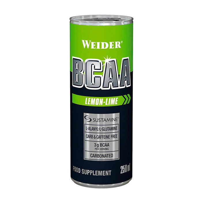 Жидкие БЦАА Weider BCAA (250 мл) вейдер lemon-lime