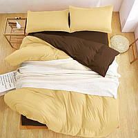 Качественный комплект постельного белья Турция Люкс-сатин Евро