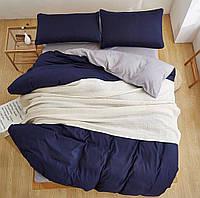 Качественный комплект постельного белья Турция Люкс-сатин Скандинавия