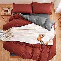 Красивый комплект постельного белья Турция в подарочной упаковке Евро