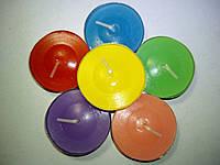 Свеча-таблетка чайная ароматизированная (6 цветов)