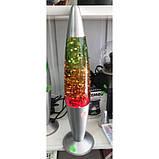 Лава лампа с блестками Глиттер (36 см) Мультиколор., фото 2