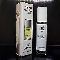 Chanel Egoiste Platinum - Масло 10 мл