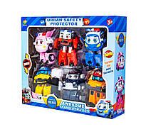 Игровой набор Робокар Поли 6в1 трансформеры Robocar Poli scn