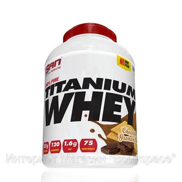 SAN Nutrition, Протеин 100% Pure Titanium Whey, 2270 грамм
