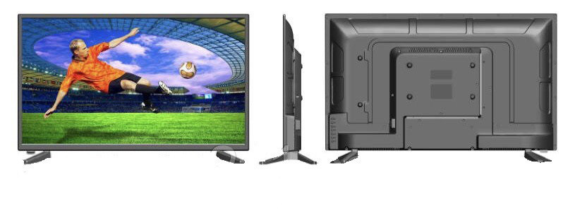 LED телевизоры   Телевизор L34 32 дюймов c т2 тюнером Full HD HDMI SUPER SLIM