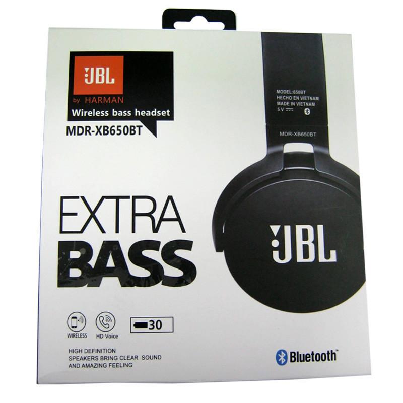 Наушники беспроводные   Bluetooth наушники   Наушники JBL MDR-XB650BT