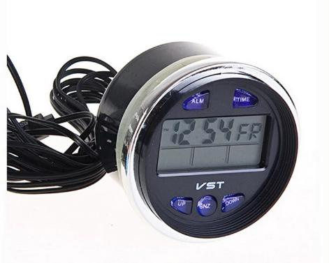 Часы автомобильные   Часы для авто VST 7042V