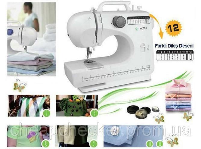 Домашняя швейная машинка   Швейная машинка мини 506 12 в 1