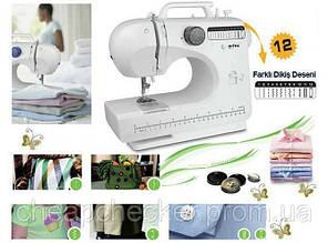 Домашняя швейная машинка | Швейная машинка мини 506 12 в 1
