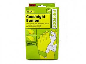 Фиксатор большого пальца | Бандаж для большого пальца стопы Goodnight Bunion