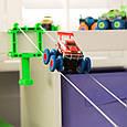 Детские машинки | Игрушечные трассы | Трасса Монстр Траки Trix Trux 2 машинки , фото 3
