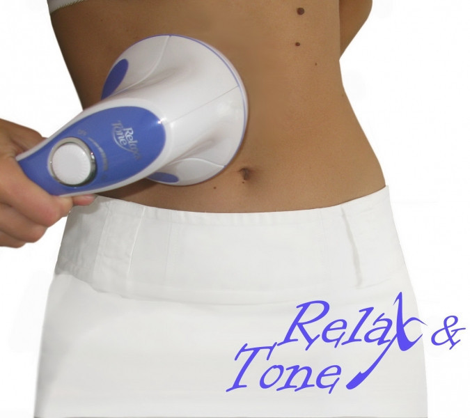 Вибромассажер | Ручной массажер | Массажер для тела Relax&Tone