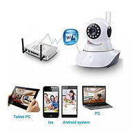 IP камера   Видеонаблюдение   Камеры наблюдения   Камера видеонаблюденя Wi-Fi Smart Net Camera Q5