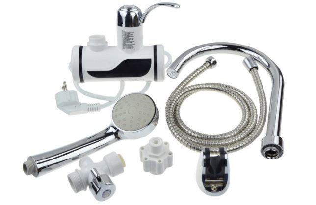 Нагреватели воды | Проточный водонагреватель | Водонагреватель Delimano боковое подключение