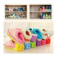 Хранение обуви | Подставка под обувь | Органайзер для обуви Shoe Slotz