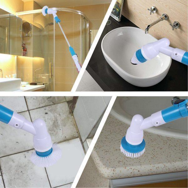 Щетка для уборки   Электрощетка для уборки   Электрическая щетка Spin Scrubber