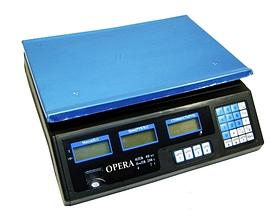 Торговые весы | Весы электронные торговые Opera Plus до 40 кг