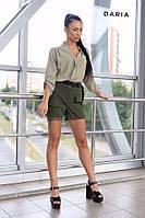 Модные женские шорты с карманами