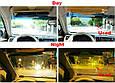 Солнцезащитный козырек | Антибликовый солнцезащитный козырек HD Vision Visor Clear View, фото 6