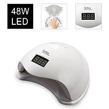 Лампа для ногтей | Лампа для маникюра | Лампы для гель лака | Лампа для сушки ногтей Sun5 48W UV/LED