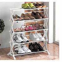 Органайзер для обуви | Полки для обуви | Подставка под обувь Shoe Rack