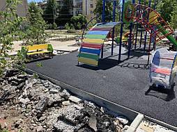 Покрытие для детской площадки г. Николаевка, Донецкая обл. 2