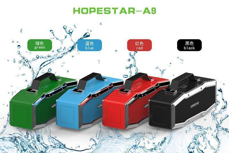 Колонки   Беспроводная колонка   Портативная колонка с Bluetooth Hopestar A9 (Bluetooth, MP3, AUX, Mic)