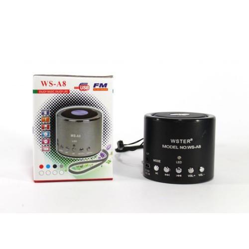 Колонки | Беспроводная колонка | Портативная колонка с Bluetooth WS-A8/A9 mix