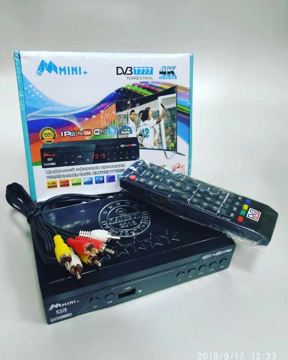 Тюнеры   Приемник цифровой эфирный 4K UHD4K Mini + DV3 T777