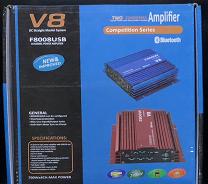 Усилитель мощности звука   Стерео-усилитель   Усилитель звука CAR AMP V8 BT