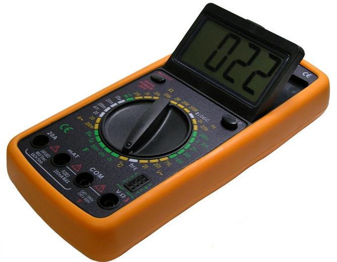 Мультиметры цифровые | Амперметр | Профессиональный мультиметр DT-9208