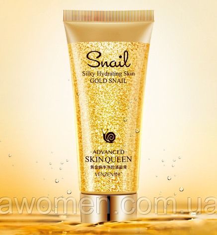 Пенка для умывания Venzen Gold Snail 100 g