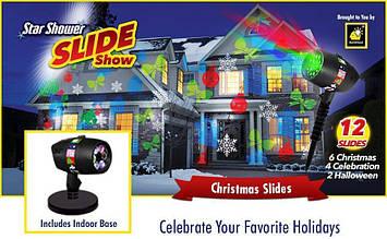 Проектор | Проекторы для дома | Мультимедийный LED проектор Christmas Star shower slide show