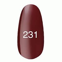 Гель лак Kodi 7 мл. Цвет №231 - красно - малиновый