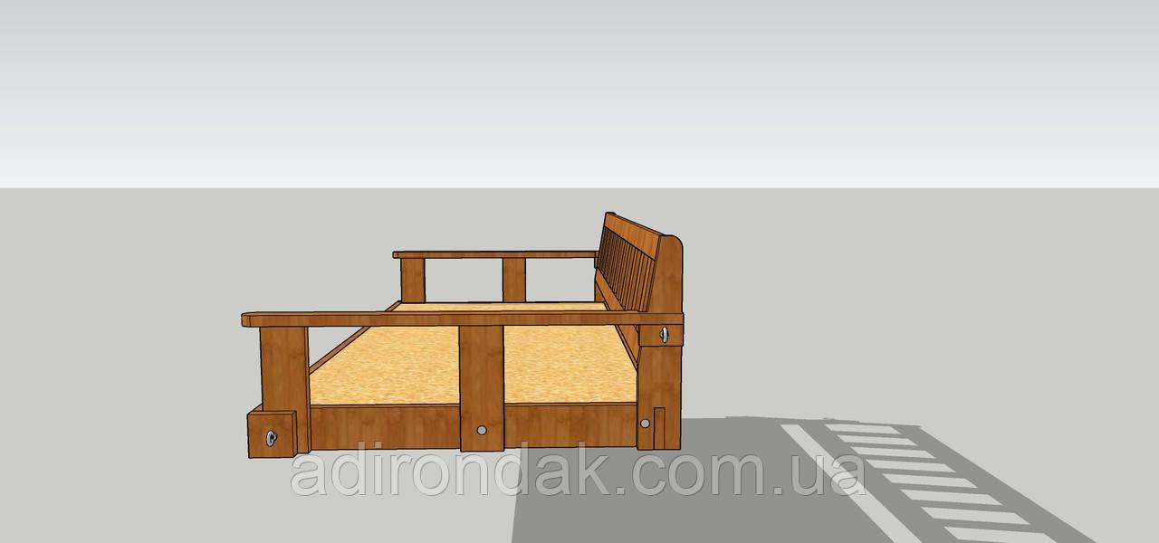 Проект , ліжко В4