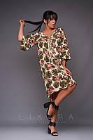 Платье большого размера Likara / софт / Украина 32-864, фото 1