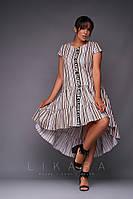 Платье большого размера Likara / хлопок / Украина 32-865-2, фото 1