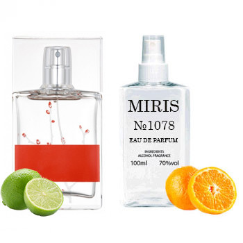 Духи MIRIS №1078 (аромат похож на Armand Basi In Red 2002) Для Женщин 100 ml